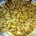 recette tarte pommes   confiture  de lait
