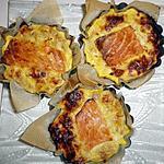 recette Quiche thon saumon sans pate