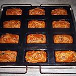 recette Cakes saucisson a l'ail et olives