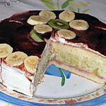 recette Biscuit à la crème de rhubarbe