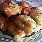 recette Minis cake apéritifs courgettes bleue et noix
