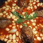 recette Joues de porc aux coco de paimpol
