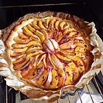 recette tarte aux peches