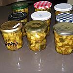 recette Courgettes aigre-doux