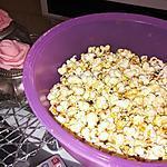 recette Pop corn maison au caramel beurre salé