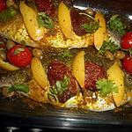 recette Daurade à la marocaine au four