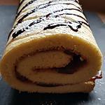 recette Gateau roulé express à la confiture de figue, (très façile)