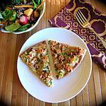 recette Pizza express au pesto léger et sockeye +
