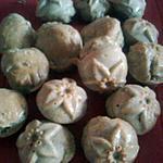 recette minis cakes à la farine de lentilles et au bacon (bio)