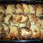 recette Gratin d aubergines au poulet