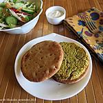 recette Burgers sans viande à l'indienne