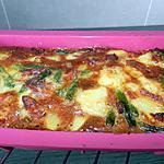 recette Terrine aux oeufs pomme de terre-haricots et lardons