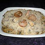 recette Gratin moules/champignons
