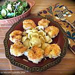 recette Crevettes croustillantes au bon goût d'orange +