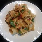 recette Paccheri a la méditerranéenne
