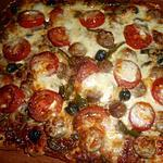recette Pizza saucisse de veau au fenouil