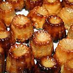 recette Mini cannelés