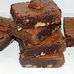 recette Brownies chocolat et noix de pécan