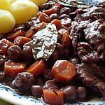 recette Boeuf Bourguignon aux carottes