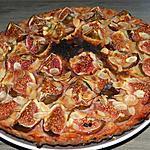 recette Tarte aux figues et aux amandes