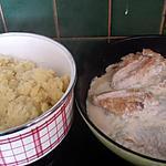 recette Purée maison au cumin et ses escalopes de dinde crème fraîche