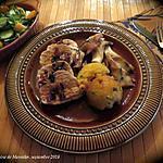 recette Rôti de poitrine de dindon à l'italienne