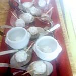 recette billes apéritives fromagéres au     crabe  émietté    sur une idée  de nathalie   du  blog  les food  amour