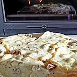 recette Pizza raclette champignons