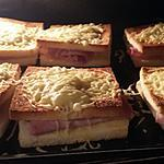 recette Croque monsieur bacon / jambon