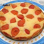 recette Gâteau au fromage blanc et abricots