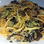 recette Spaghettis a la truffe et au parmesan