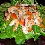recette Salade composée de la mer