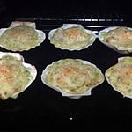 recette Coquille Saint-Jacques aux champignons