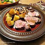 recette Filet de veau au barbecue +