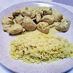 """recette Poulet à l""""indienne"""