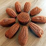 """recette Gâteau """"fleur"""" au chocolat-courgette"""