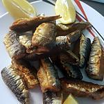 recette Friture de Filet de Sardine