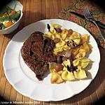 recette Foie de veau poêlé, sauce aux raisins frais