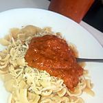 recette Sauce Bolognaise Italienne au Thermomix