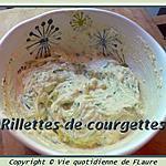 recette Rillettes de courgettes