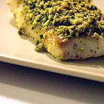 recette Crumble de cabillaud aux pistaches