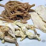recette Cuisses de grenouilles au curry