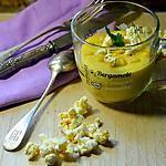 recette Velouté de maïs au popcorn