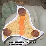 recette Boulettes de viande thailandaises/langues d'oiseaux
