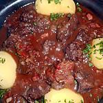 recette Boeuf aux oignons des cevennes