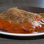 recette Ailes de raie aux herbes et sa sauce aux poivrons