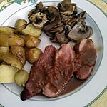 recette Magret de canard sauce porto chocolat