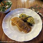 recette Pavé de saumon à la confiture de mangue