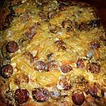 recette Pizza aux diots et reblochon