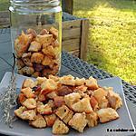recette Croûtons ail et romarin